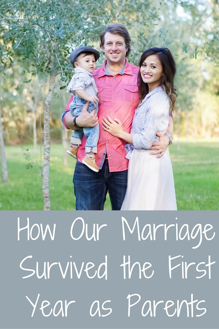 How our Marriage Survived the First Year as Parents