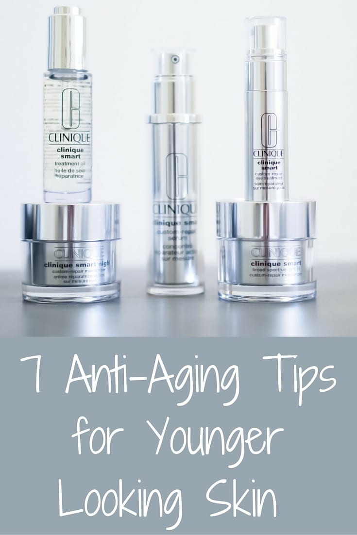 7 Anti-Aging Tips for Younger Looking Skin