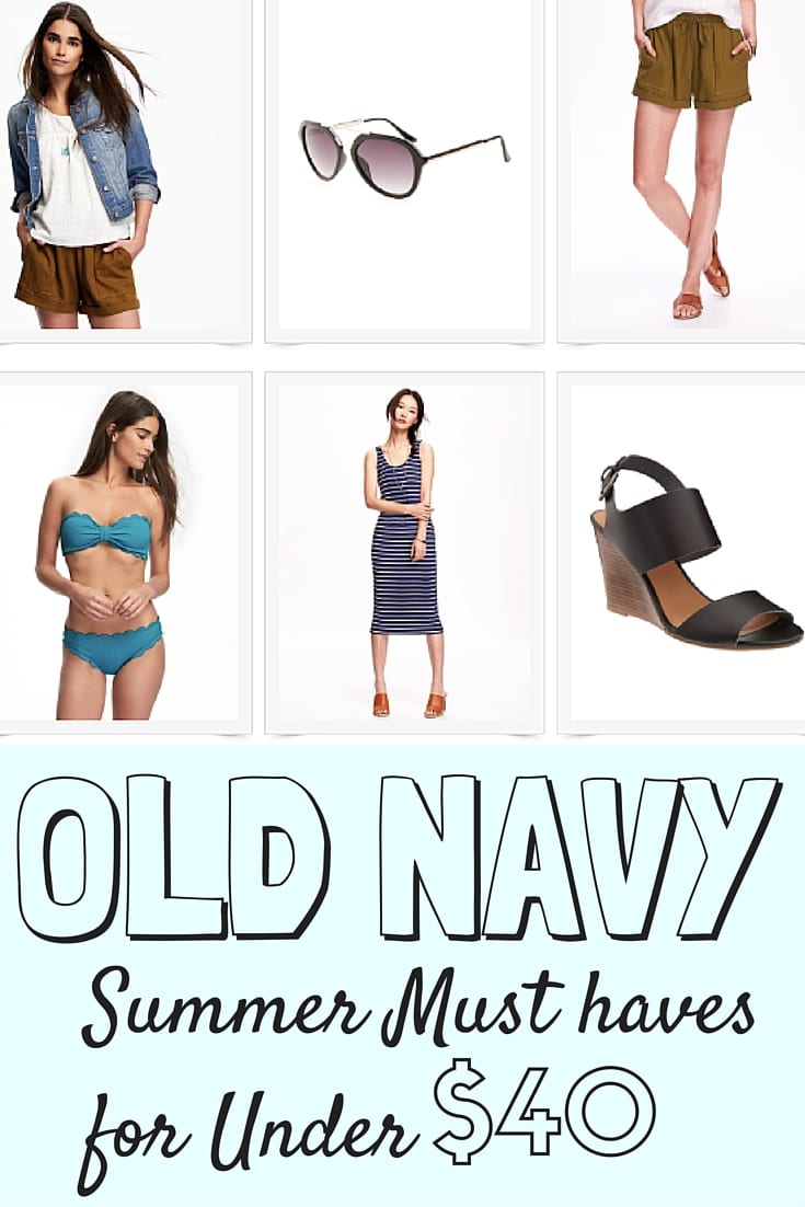 Old Navy Summer Must Haves Under $40