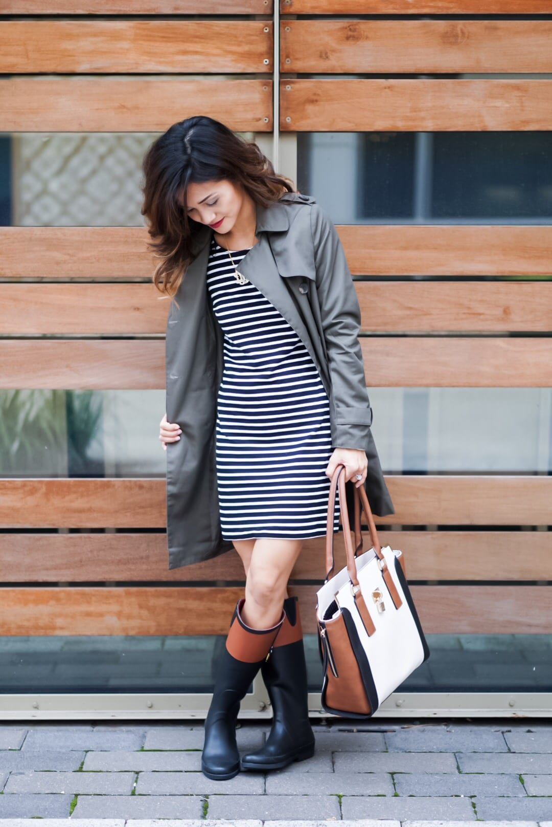 How to Wear a Trench Coat: Outfit: Closet Staple
