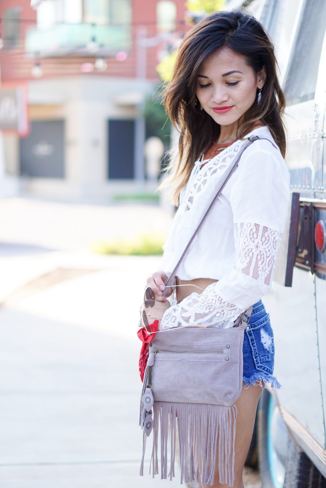 Boho Chic - Lace ups and Bralettes