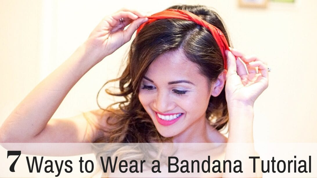 7 ways to Wear a Bandana Tutorial