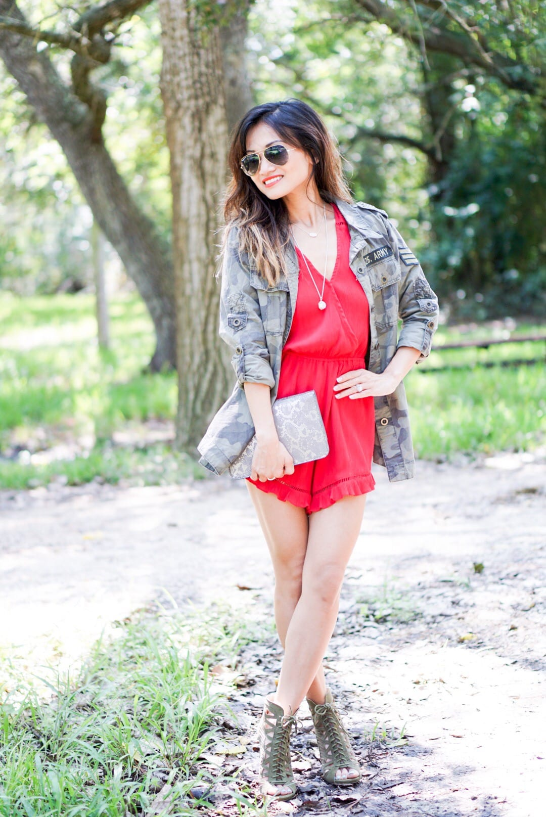How to Dress Up The Camo Jacket