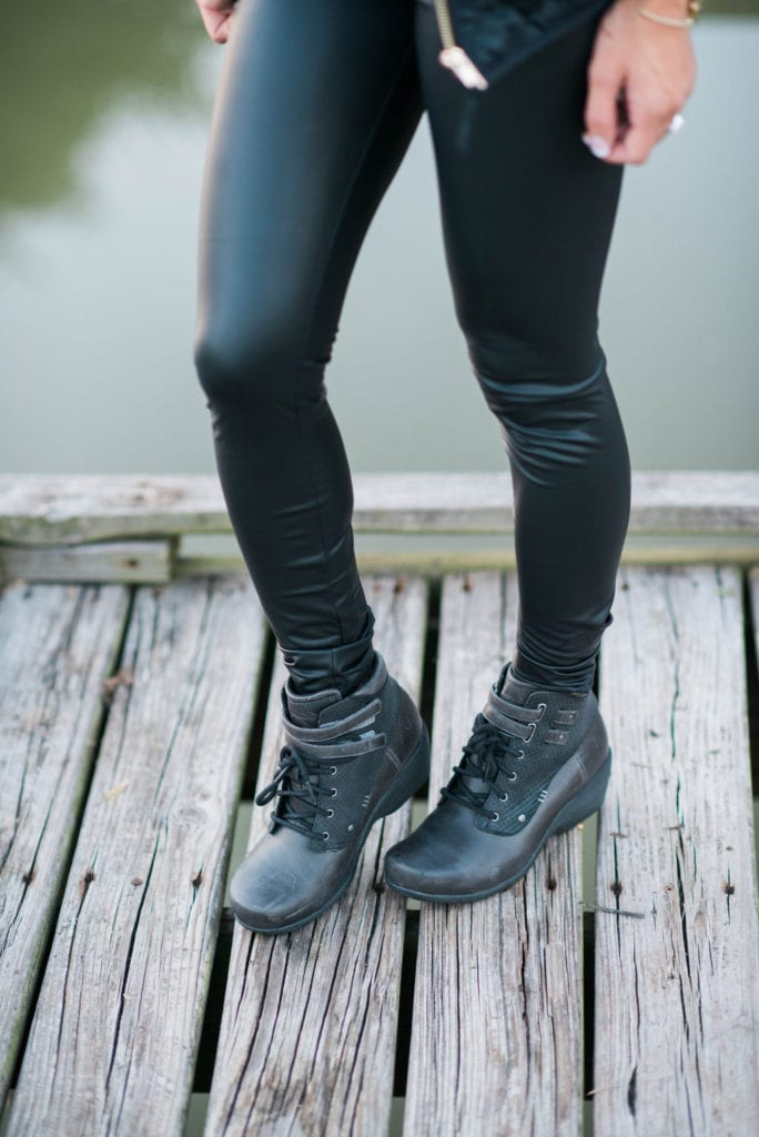 The Most Comfortable Lace up booties for Fall