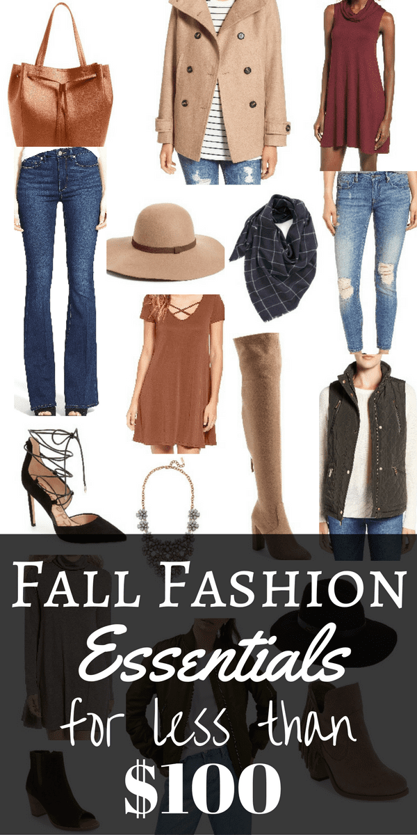 Fall Fashion Essentials for Under $100