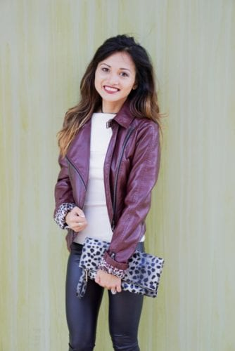 Leather and Leopard