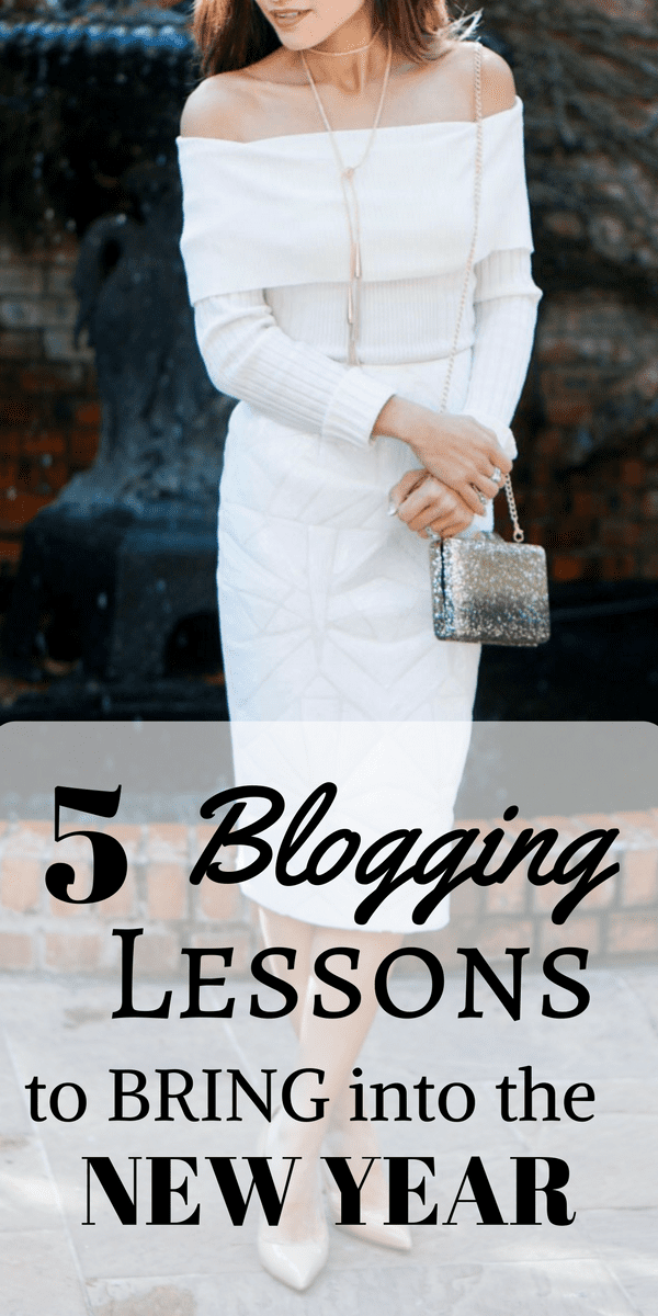 5 Blogging Lessons to Bring Into the New Year