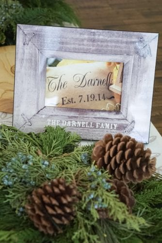 Personalized Home Gifts for the Holidays