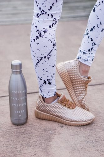 5 Tips to Make Time for Your Fitness Goals by Houston fitness blogger Dawn P. Darnell - Fitness_sneakers_kicks