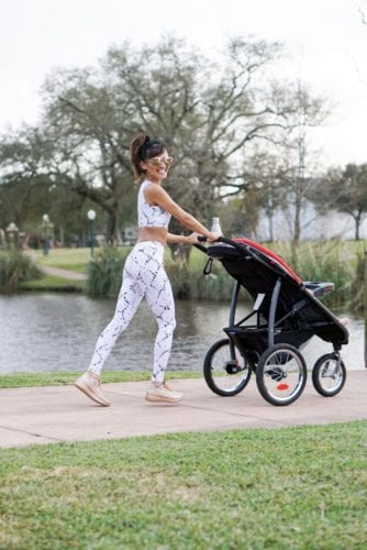 5 Tips to Make Time for Your Fitness Goals by Houston fitness blogger Dawn P. Darnell - fit mom_stroller workouts
