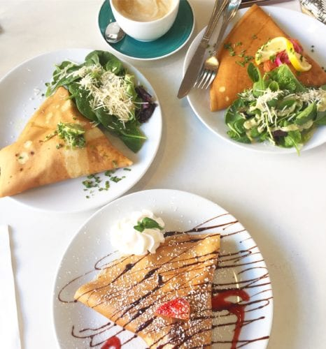 sweet paris, city center, crepes, brunch