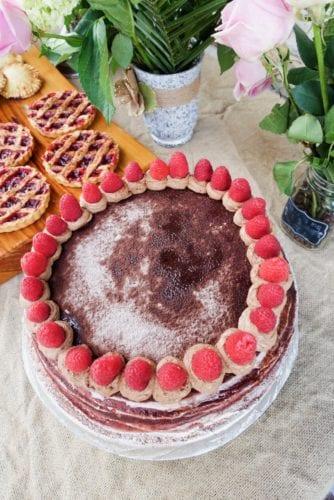 Barbazzar red velvet crepe cake