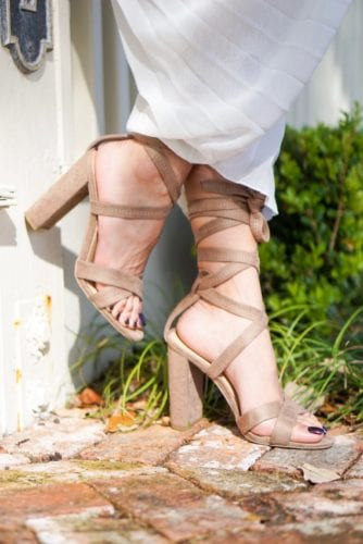 shoe style, summer shoes, spring shoes, steve madden, lace up heels