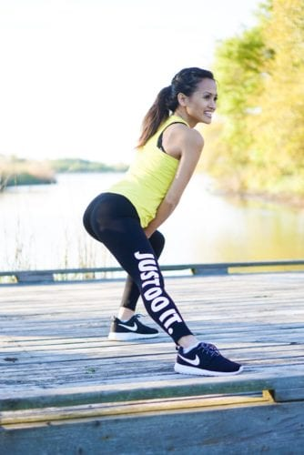 fitness fashion, workout outfit, just do it, nike