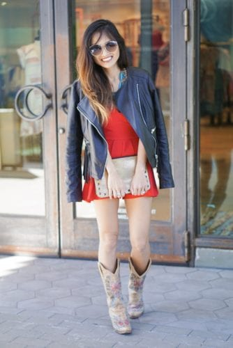 HOUSTON RODEO, RODEO OUTFIT, COUNTRY GIRL, COWBOY BOOTS