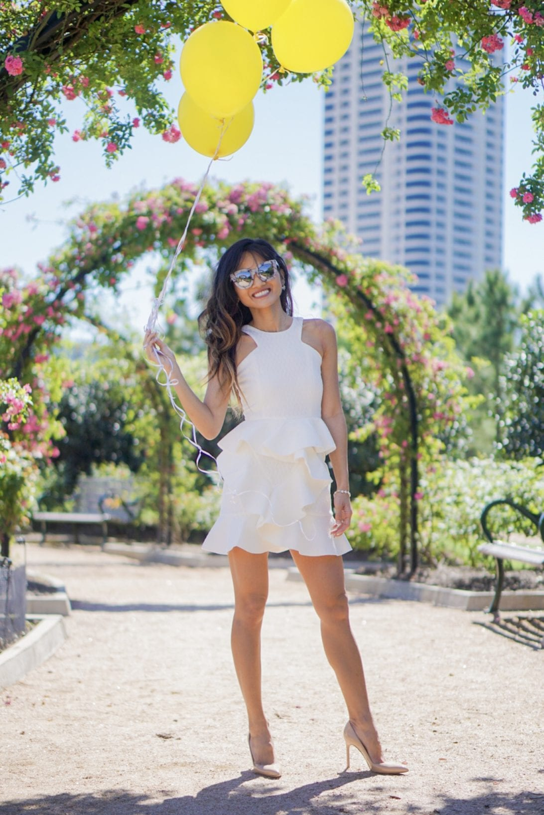 little white dress, cocktail dress, chickwish, spring style, white dress