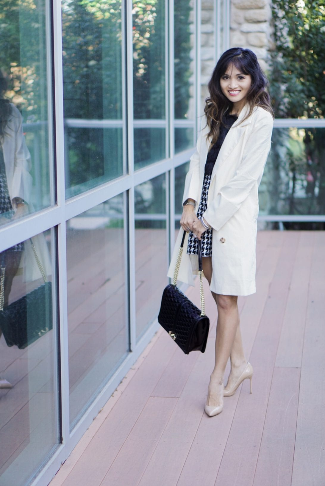 20 Easy Tips for the Best Instagram Post by Houston fashion blogger Dawn P. Darnell - light weight blazer, nude heels, rebecca minkoff bag, chic wish, work wear