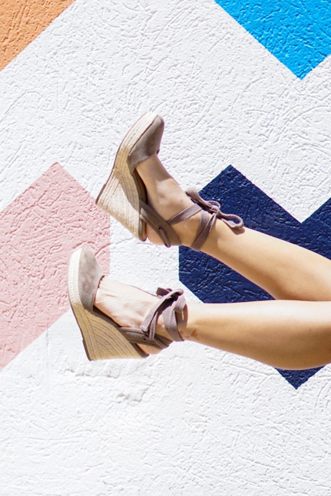 tie espadrilles, wrap espadrilles, lace up espadrilles, summer shoes