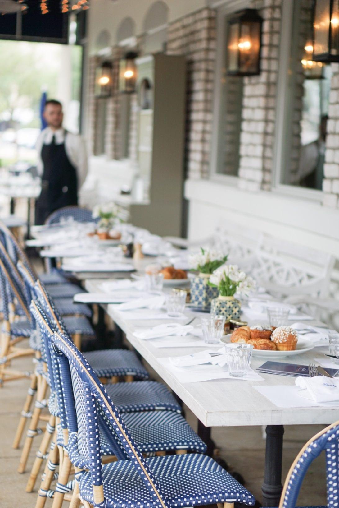 la table, houston, blogger brunch, houston brunch, houston restaurants, outdoor patio, french patio, brunch