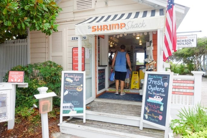 seaside, Florida, shrimp shack, places to eat in Florida, places to eat in seaside