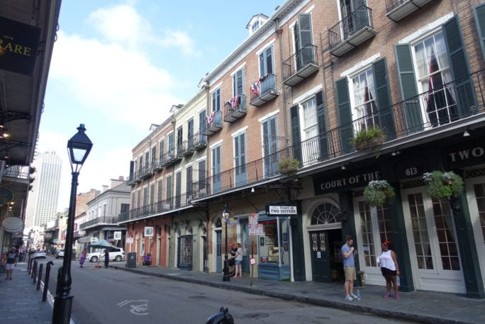 french quarter, street of new orleans, visit new orleans