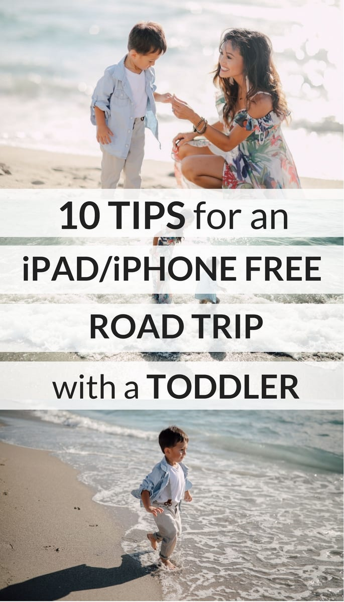 TIPS FOR TRAVELING WITH A TODDLER, TECHOLOGY FREE TRIP WITH KIDS, IPAD FOR TODDLERS, TRAVELING WITH KIDS, ROAD TRIP WITH KIDS, ROAD TRIP WITH TODDLERS, ENTERTAINING TODDLERS,