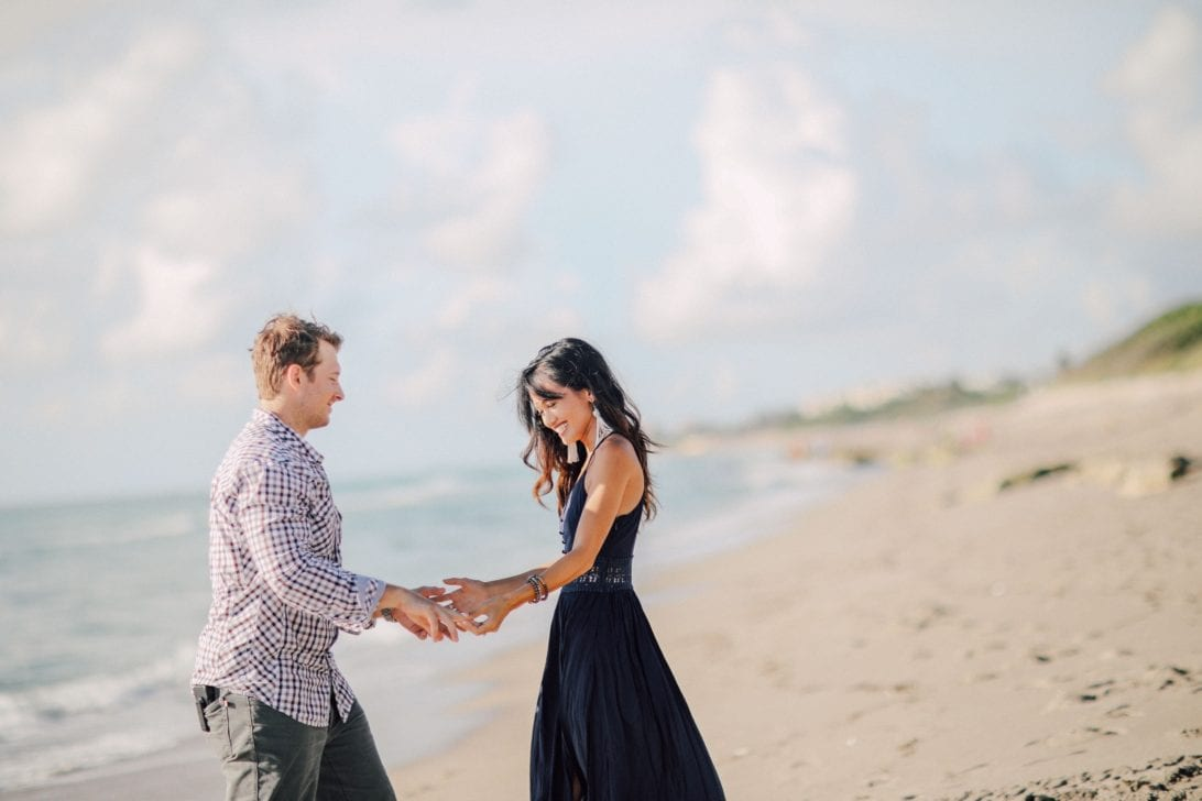 ENGAGEMENT PHOTOS, COUPLE PHOTOS. BEACH PHOTOSHOOT, BEACH ENGAGEMENT, BEACH ANNIVERSARY SHOOT, WHAT TO WEAR AT A PHOTO SHOOT, NAVY MAXI DRESS