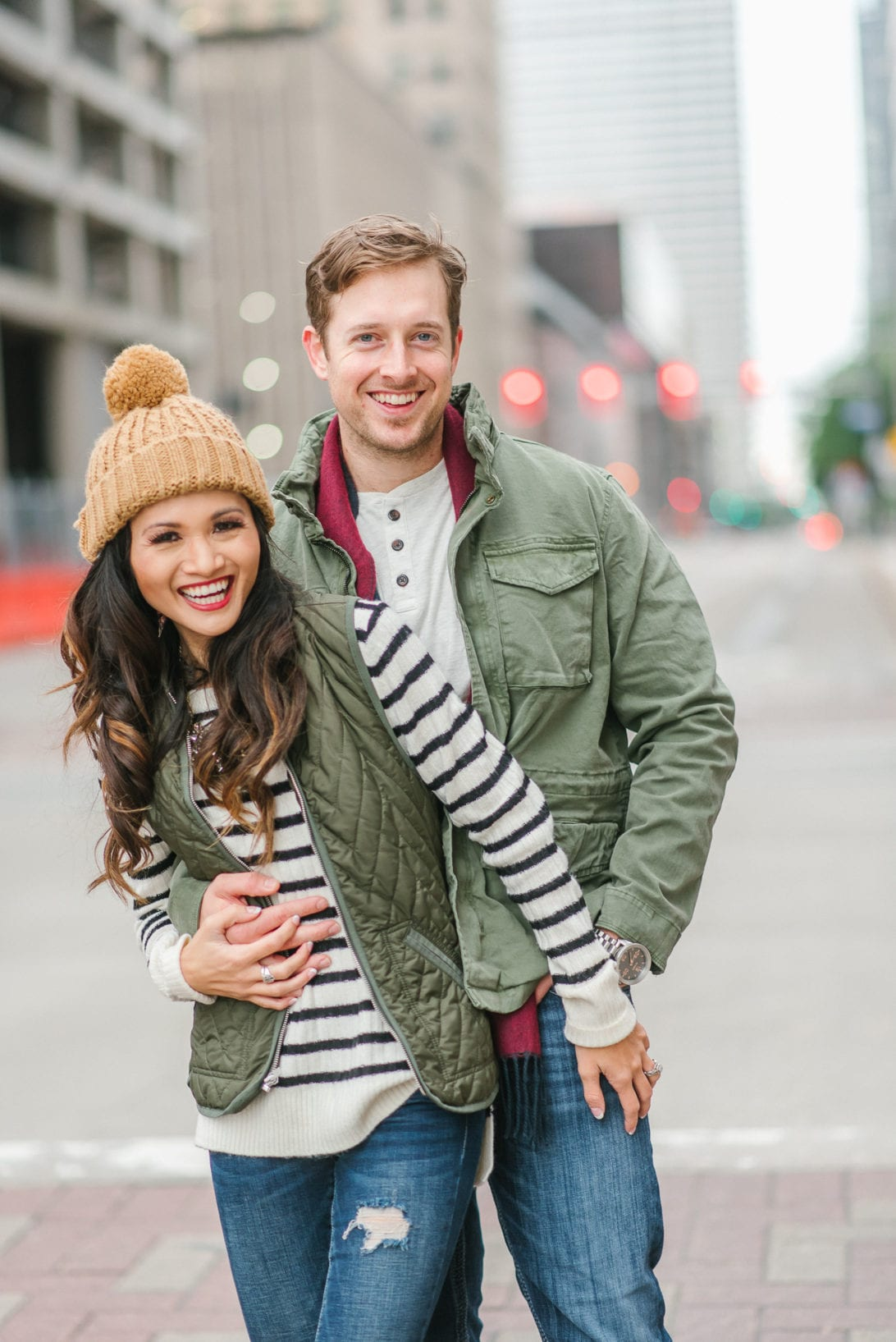 old navy, old navy clothes, old navy style, #holiyay, #oldnavystyle, family style, winter style, snow outfit, winter outfit, family outfits, family winter outfits, utility jacket, quilted vest, striped sweater, Cable-Knit Pom-Pom Beanie , pom pom. beanie, Jandon Bootie, muk luk, snow shoes, hiking boots, boy fashion, toddler fashion