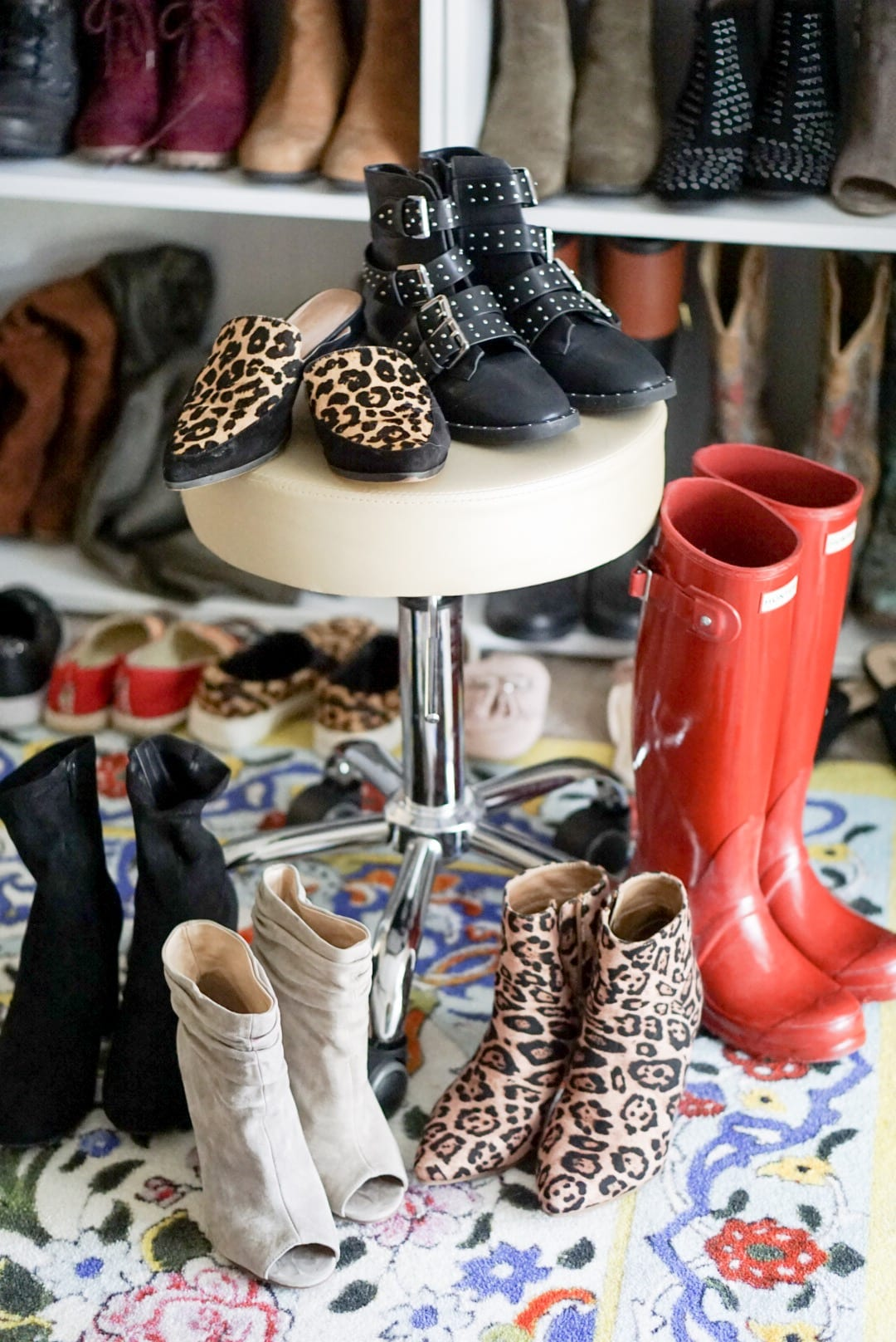 TARGET, SHOPBOB, HUNTER BOOTS, RED HUNTER BOOTS, STUDDED BOOTS, BOOTS FOR FALL, FALL SHOES, PEEP TOE BOOTS, SOCK BOOTIES, LEOPARD BOOTIES, LEOPARD MULES, LEOPARD SLIDES