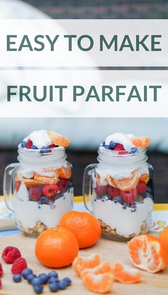 fruit parfait, fruit parfait recipe, easy to make recipe, thanksgiving recipe, recipe to make with kids, dessert, no cook recipe, cuties, #100dayofhappiness, mom and me activities, boy mom, holiday fun, holiday diy, DIY with kids