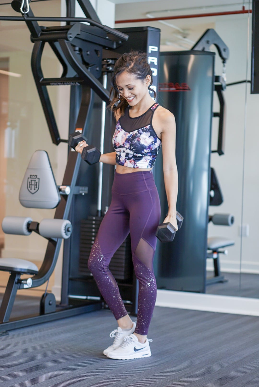 printed workout leggings, fitness fashion, activewear, gym clothes, activewear style, activewear outfits, floral leggings, printed leggings, workout clothes, under $50 style, mom on a budget