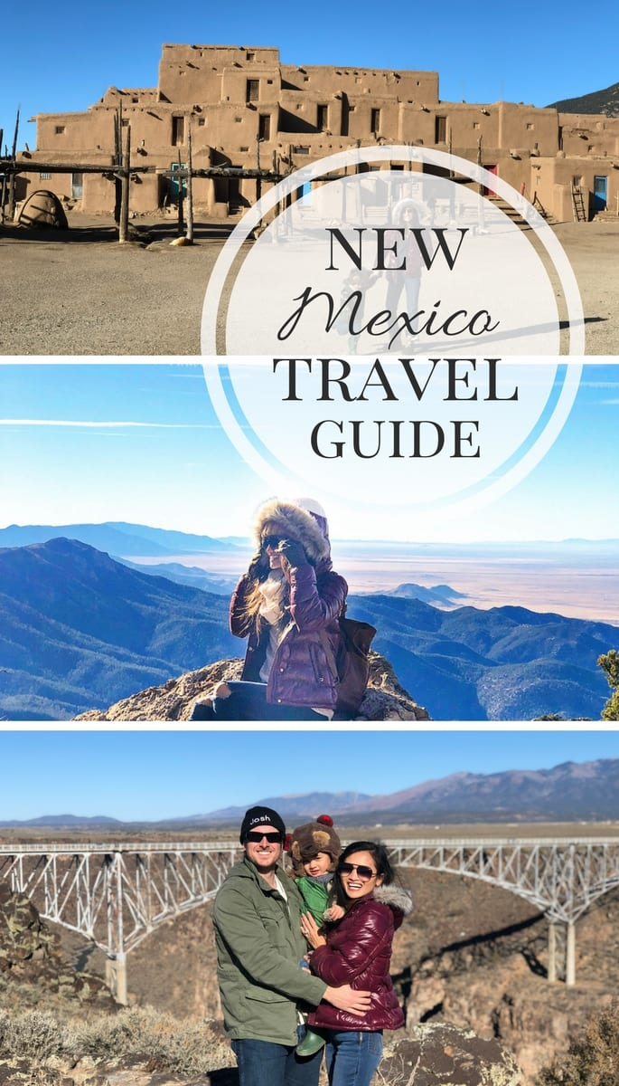 New Mexico travel guide, tory burch gemini tote, Santa Fe, New Mexico, Albuquerque, pink off the shoulder sweater, grey over the knee boots, Taos New Mexico, hotel Santa Fe, sandia peak tramway, Taos Pueblo, rio grande gorge bridge