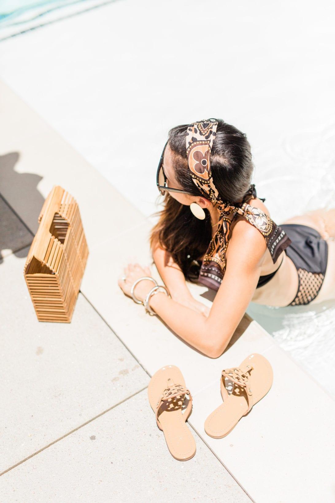 Louis Vuitton Monogrammed bag, Neverfull Gm, World Tour, #LVWORLD, #LOUISVUITTON, Louis Vuitton World Tour Bandeau, Bandeau, #summerstyle, #summerfashion, black bikini, date night look,