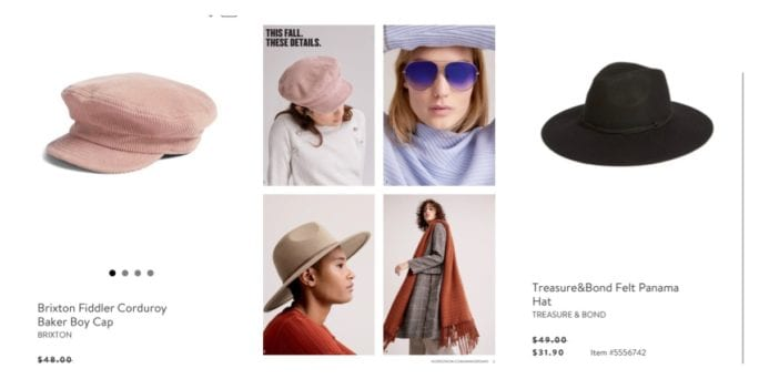 Nordstrom Anniversary Sale catalog, Nordstrom Anniversary Sale Preview, Nordstrom Anniversary Sale 2018, Nordstrom Anniversary Sale tips, shopping tips, sale picks, accessories, Brixton hat