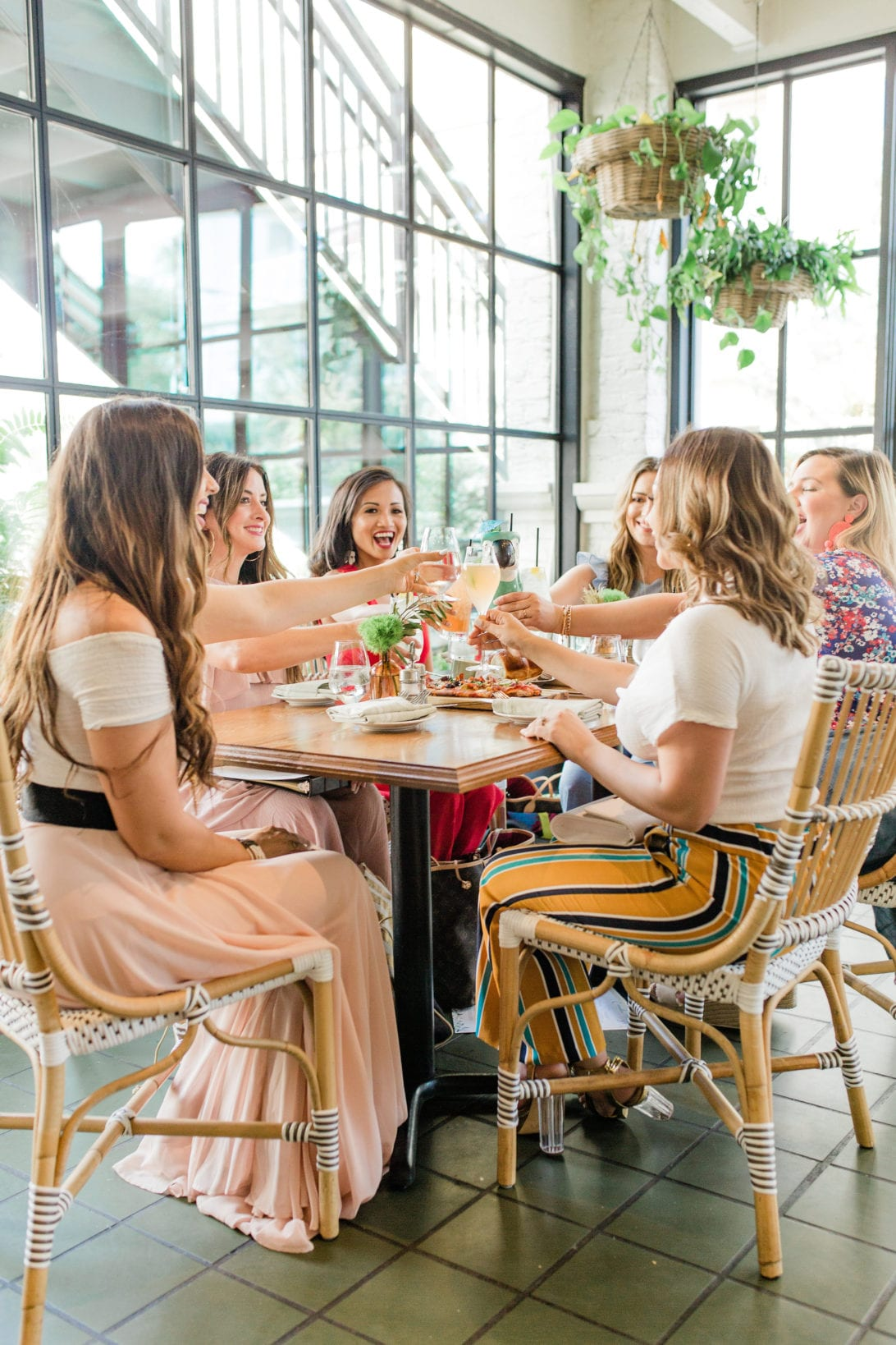 blog tribe, mom tribe, mom bloggers, houston bloggers, the blog societies conference, girl group, girl gang, women empower women, red jumpsuit