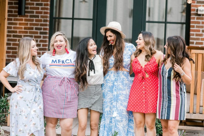boss babes, blogger friends, girl gang