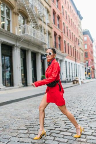 #revolvearoundtheworld, nyfw street style, NYC, fashion, outfit