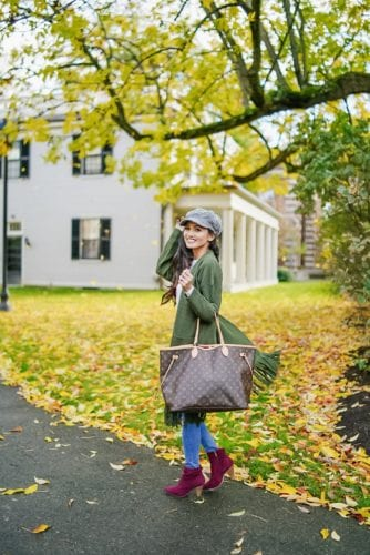 Louis Vuitton monogrammed neverfull GM, #fallstyle, #fallfashion
