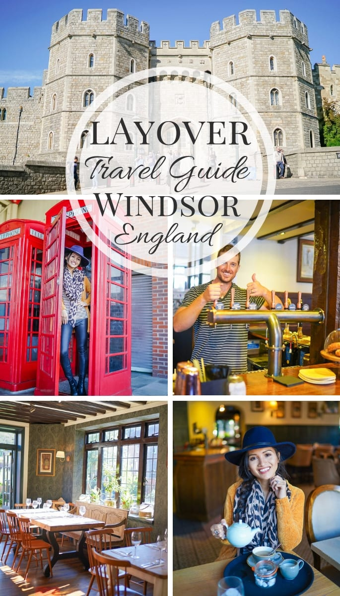 Windsor, England, Travel Guide, Things to Do, Layover, Day trip, red telephone booth, Windsor Castle, English pub, English tea