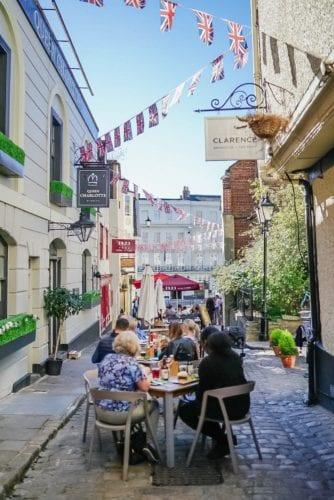 Clarence, England, Windsor restaurant