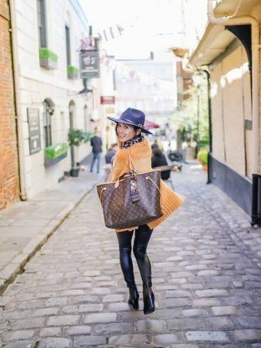 Louis Vuitton bag, nevderful gm, monogrammed