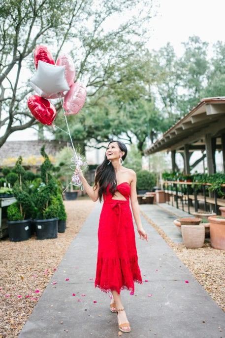 Valentine balloons, heart balloons, Valentine date ideas