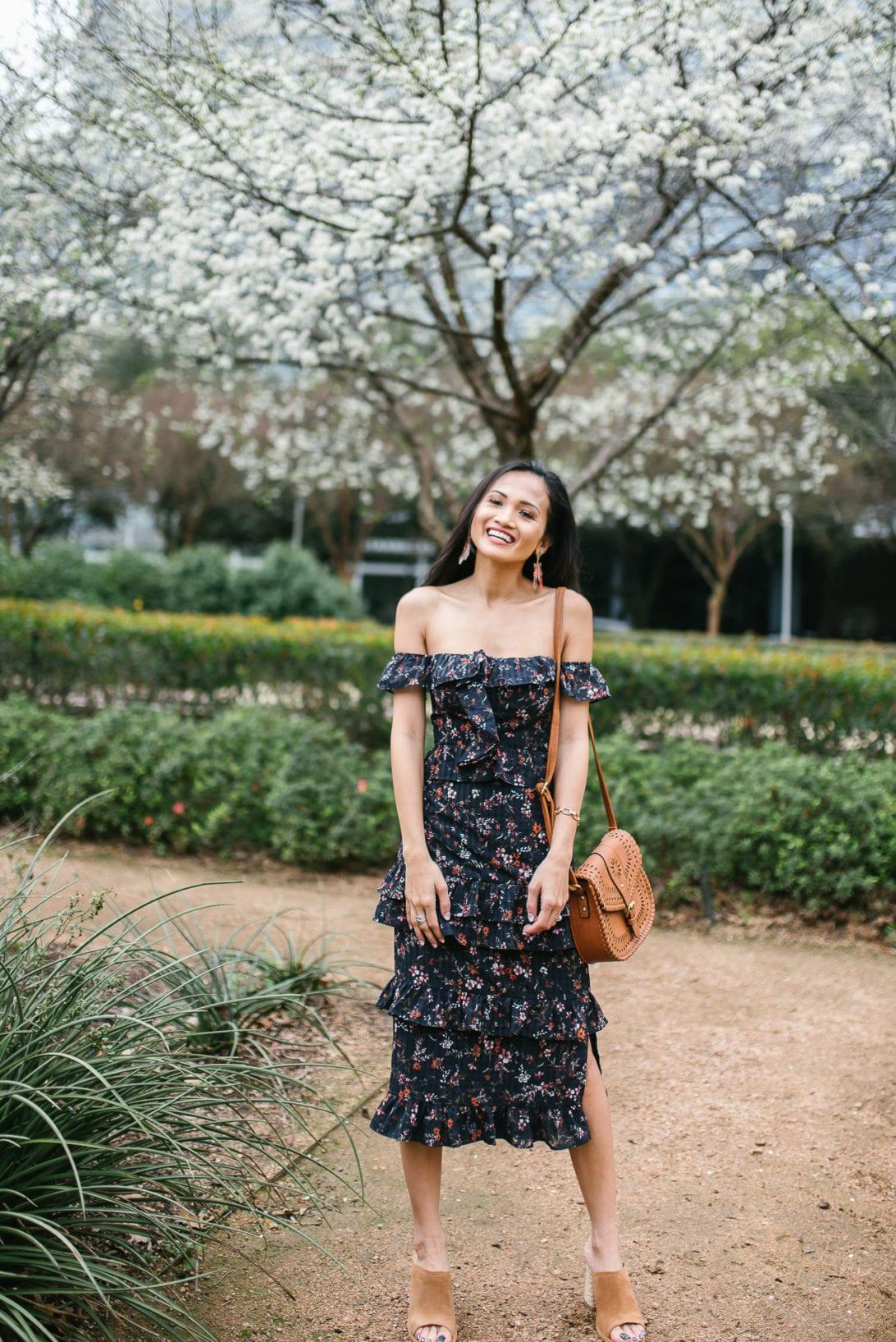 #dswstylesquad, #dsw_partner, #mydsw, spring style, floral dress