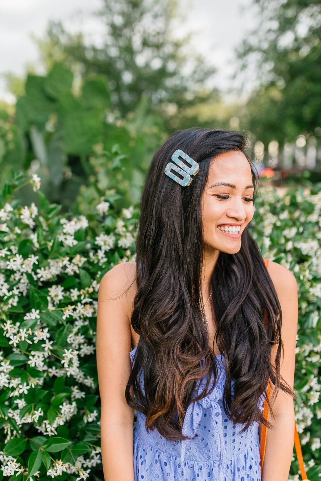 hair clips, hair beret, summer hair