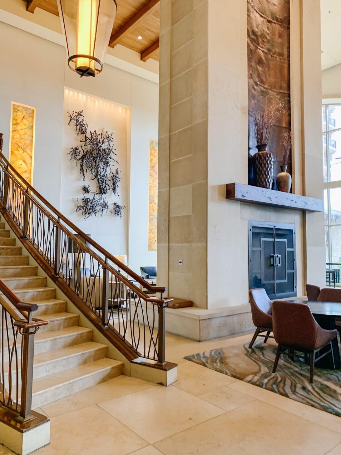 HOTEL LOBBY, JW MARRIOT San Antonio, JW Marriot Resort