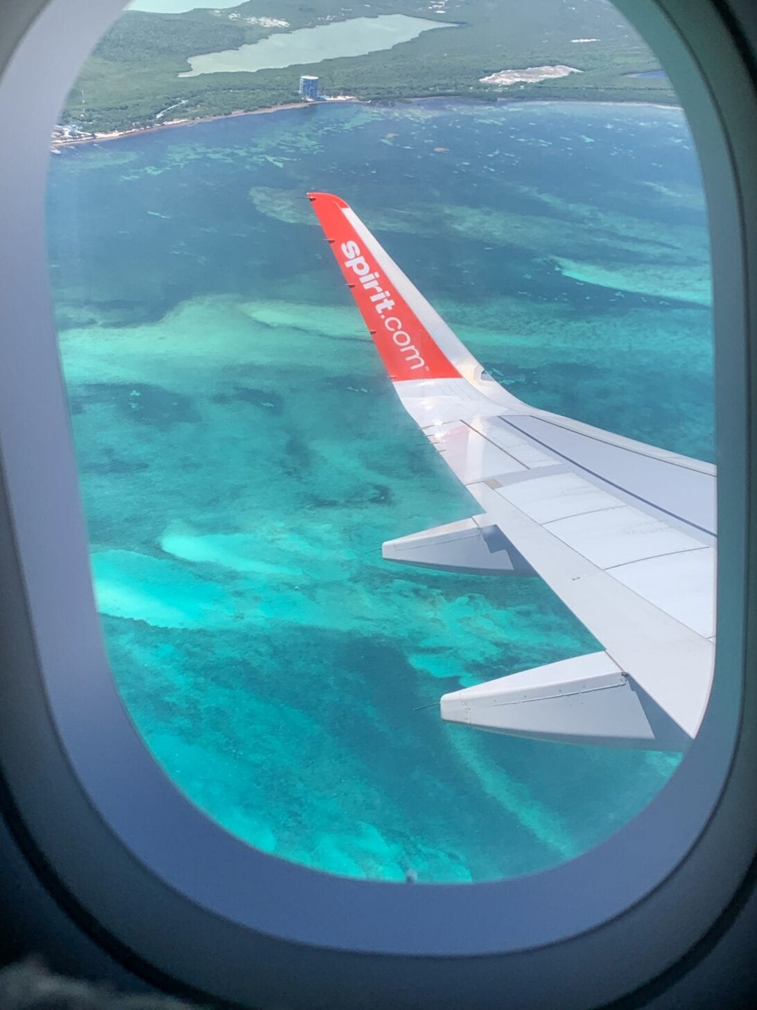 spirit airlines, Mexico, Gulf of Mexico, Yucatan Mexico