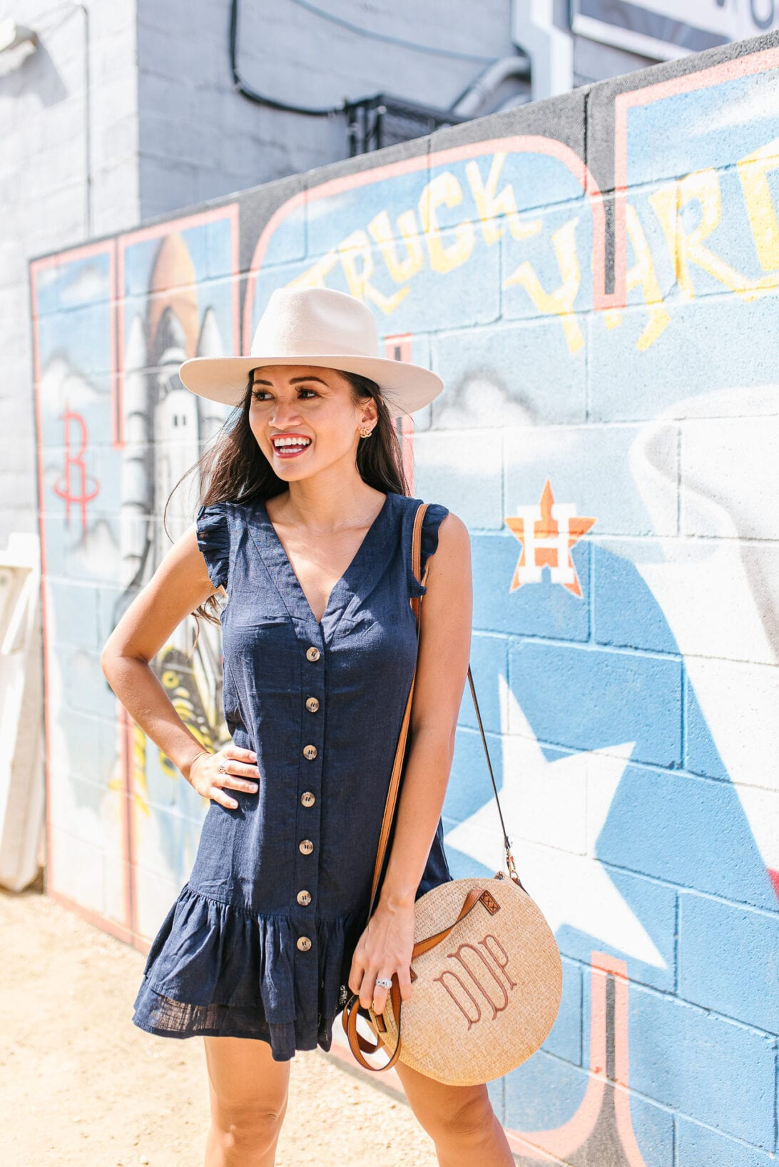 Houston astros, game day outfit, monogrammed bag