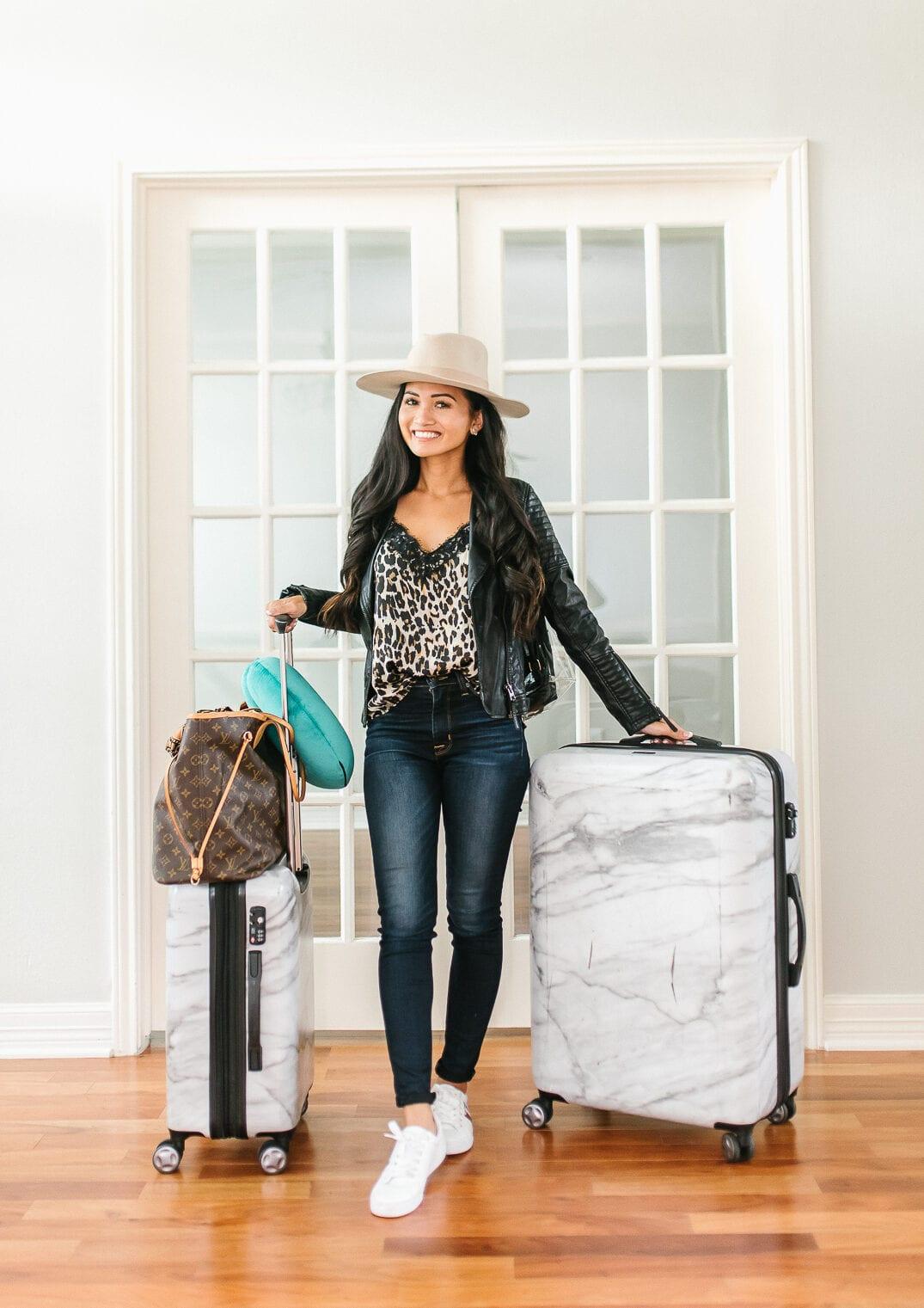 Calpak luggage, Calpak Marble luggage set
