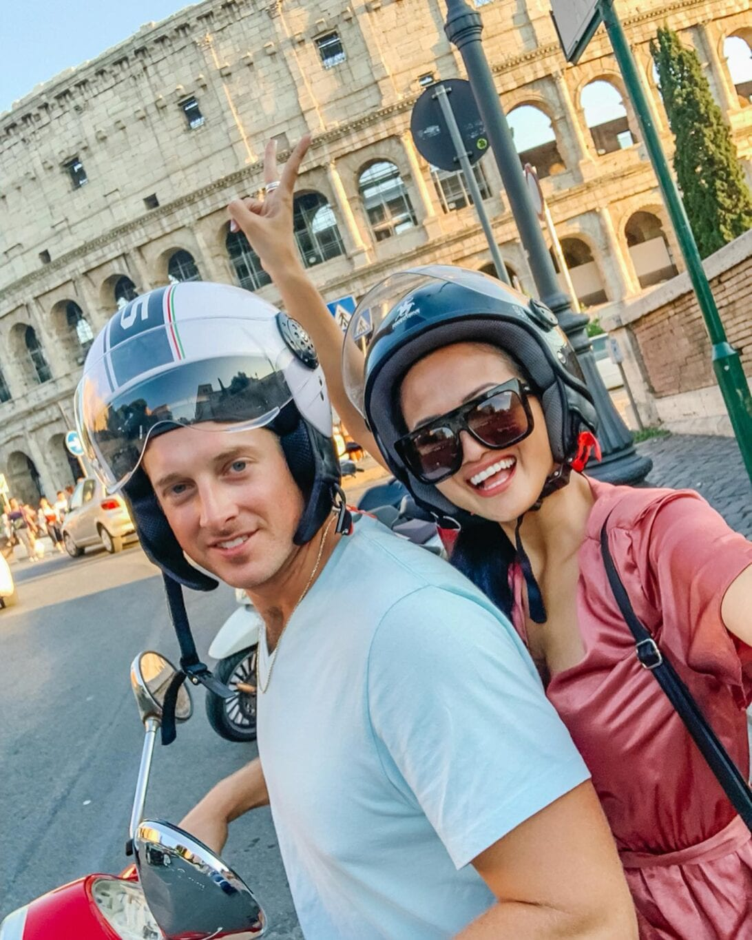 couple trip, Rome, Italy