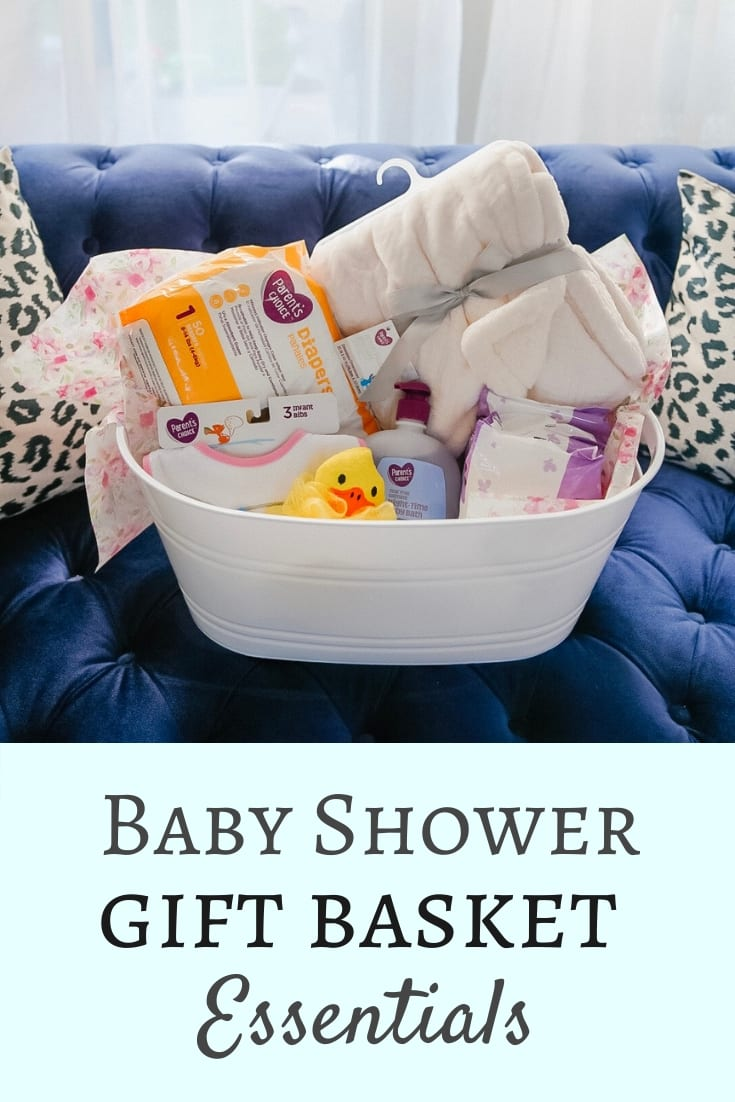 BABY SHOWER GIFTS, BABY SHOWER ESSENTIALS, GIFT BASKET, DIY